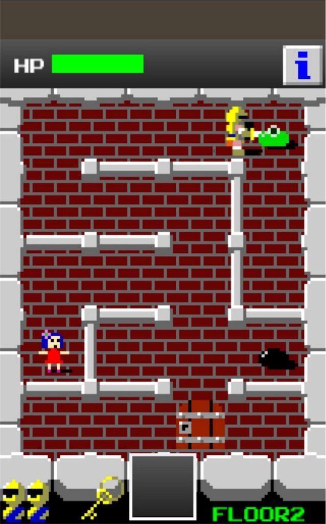 狭くて小さいドルアーガの塔の遊び方1