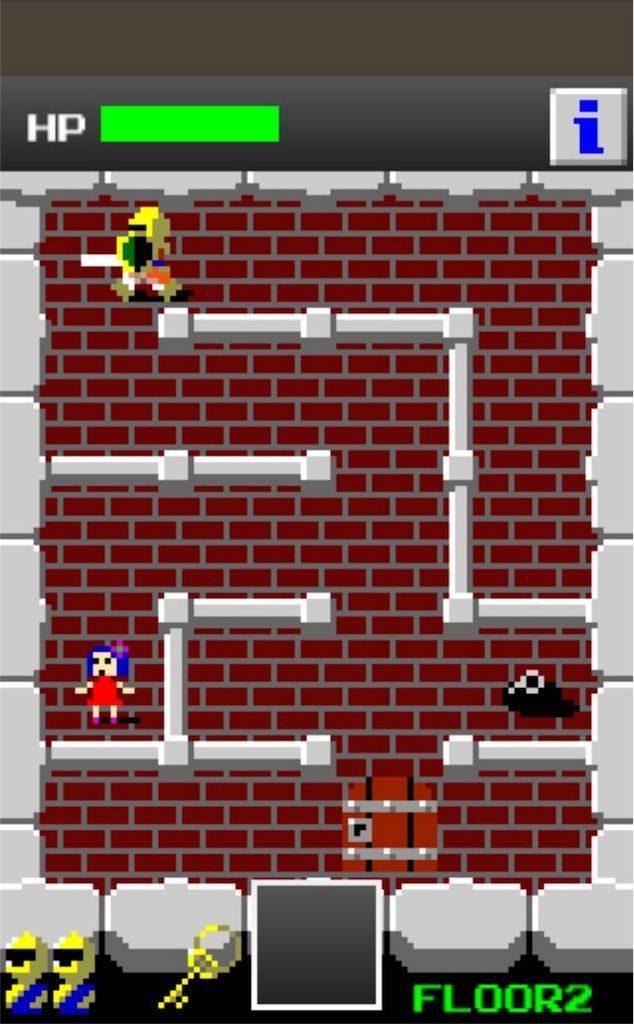 狭くて小さいドルアーガの塔の遊び方2