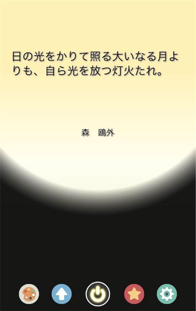 森鴎外の名言「日の光をかりて照る大いなる月よりも 自ら光を放つ灯火たれ 」