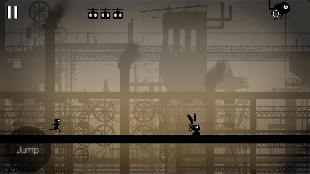 Steam Heartのゲーム画面