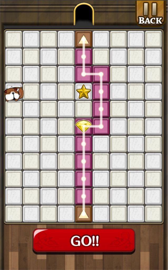 【怪盗パズル】 ステージ9の攻略