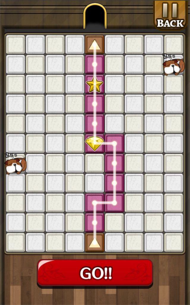 【怪盗パズル】 ステージ10の攻略