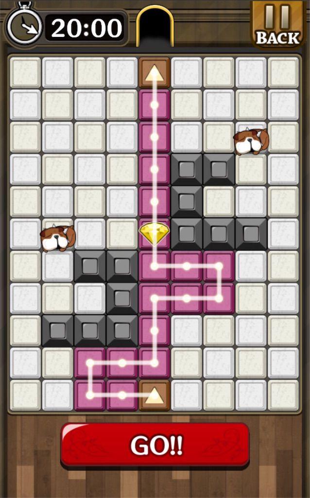 【怪盗パズル】 ステージ11の攻略