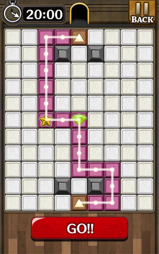 【怪盗パズル】 ステージ13の攻略
