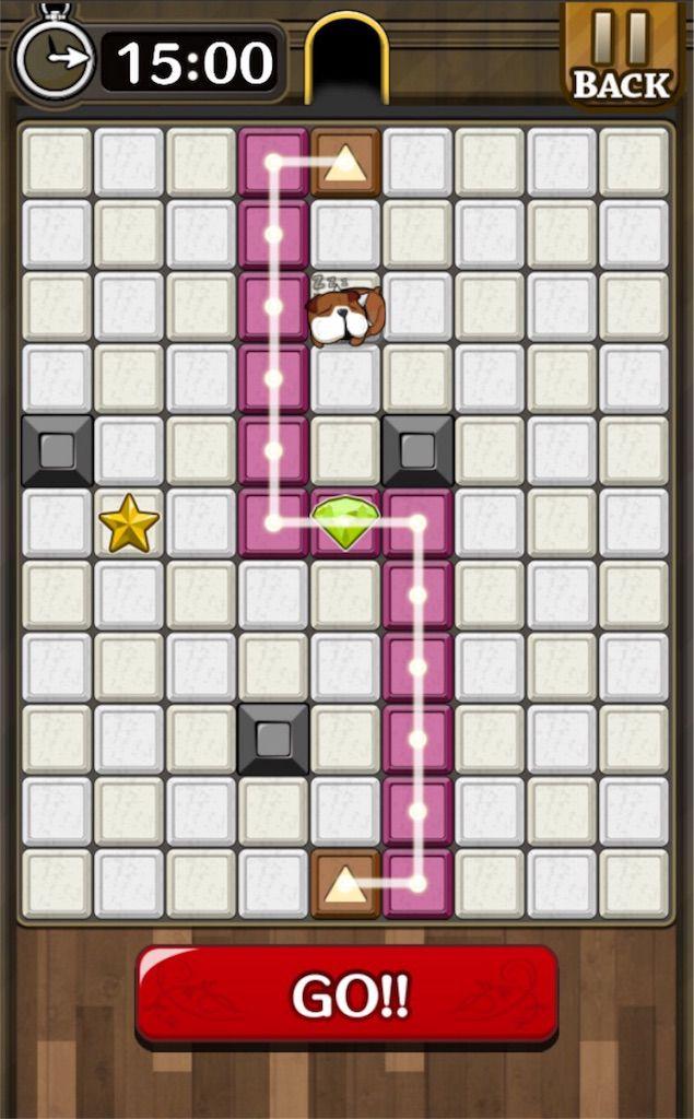 【怪盗パズル】 ステージ14の攻略
