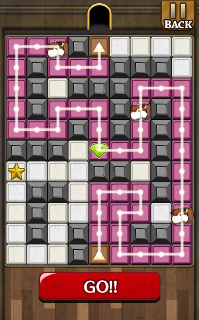 【怪盗パズル】 ステージ15の攻略