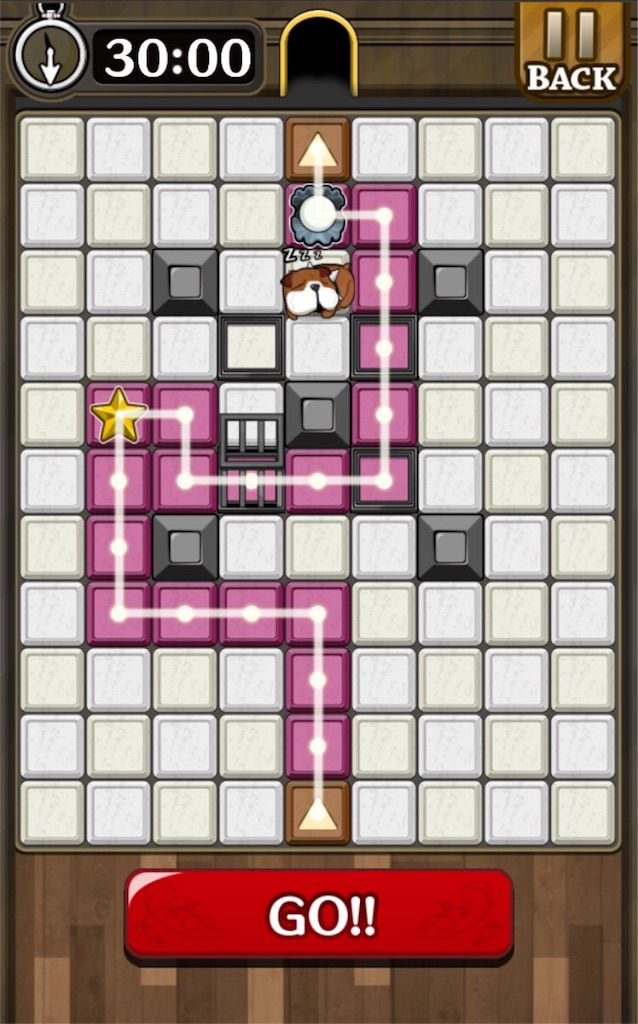 【怪盗パズル】 ステージ20の攻略