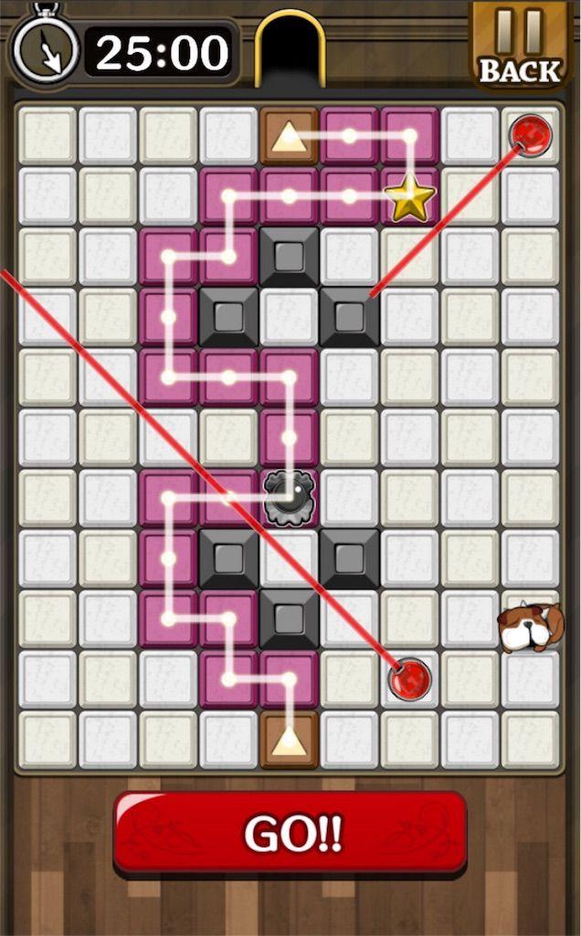 【怪盗パズル】 ステージ23の攻略