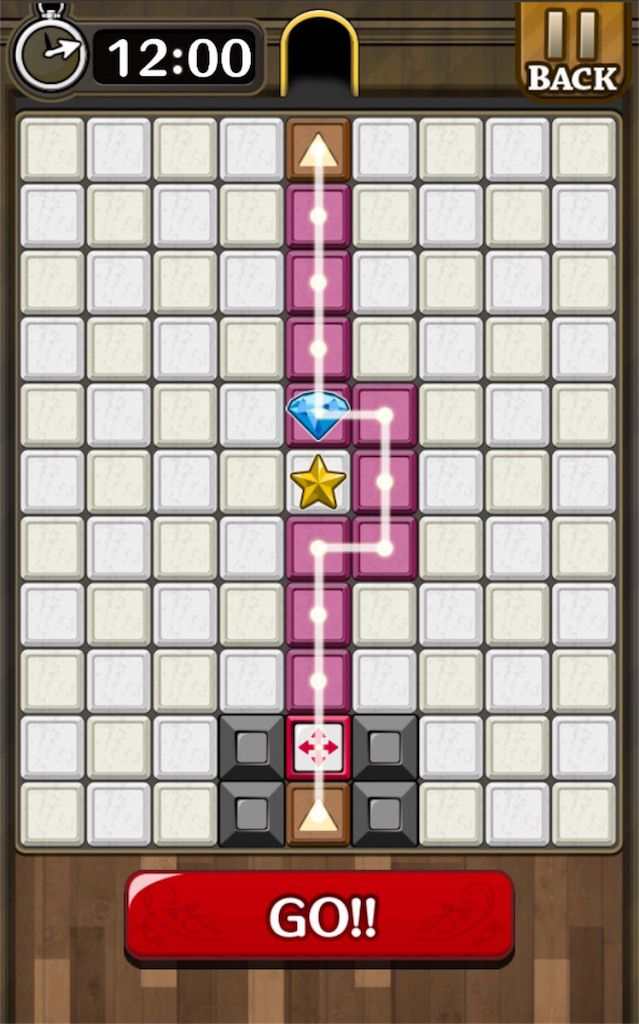 【怪盗パズル】 ステージ25の攻略