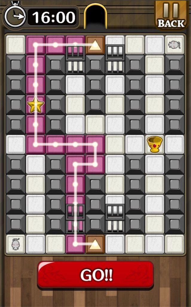 【怪盗パズル】 ステージ30の攻略