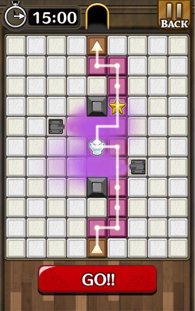 【怪盗パズル】 ステージ32の攻略
