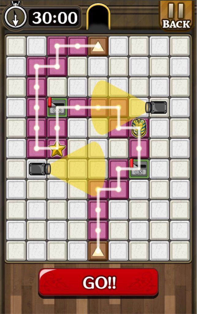 【怪盗パズル】 ステージ36の攻略
