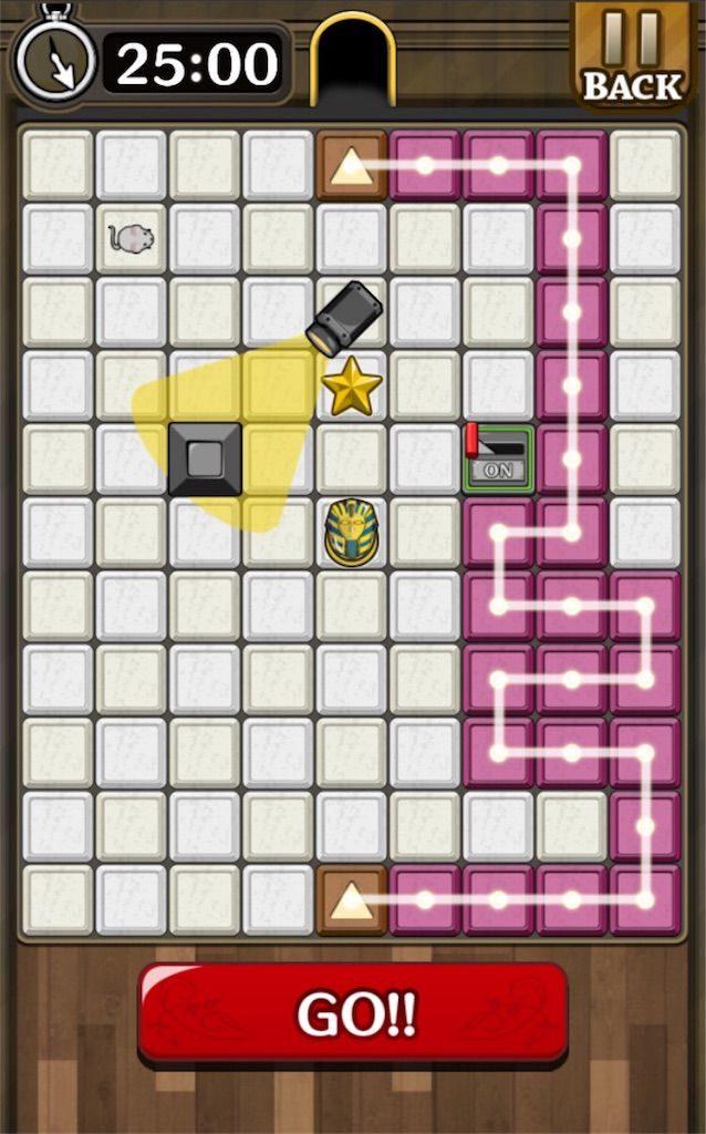 【怪盗パズル】 ステージ37の攻略