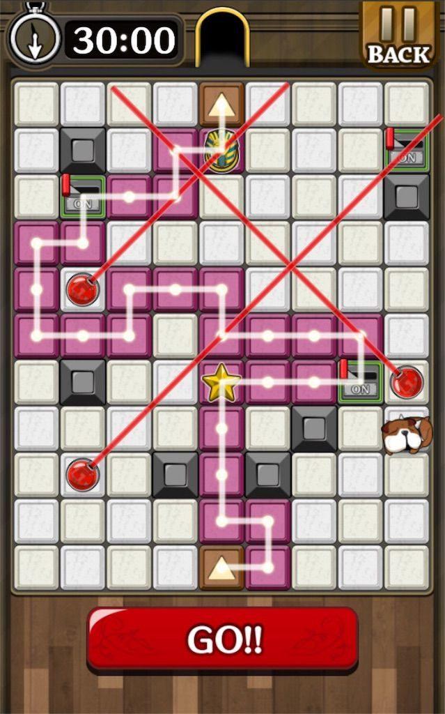 【怪盗パズル】 ステージ38の攻略