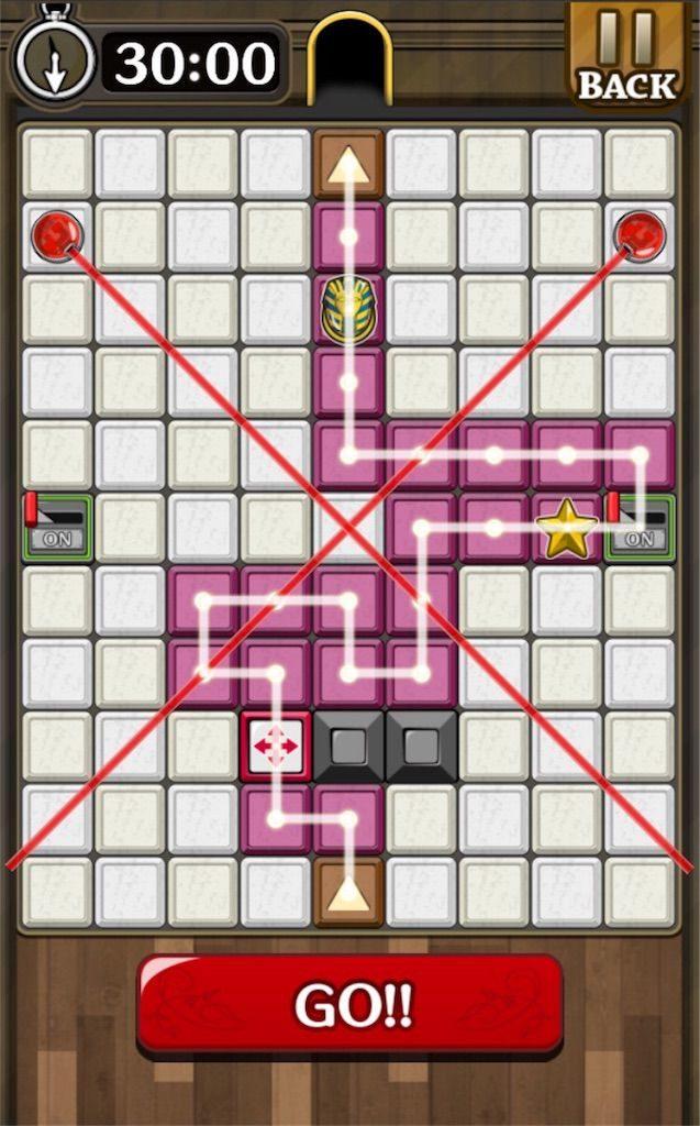 【怪盗パズル】 ステージ39の攻略