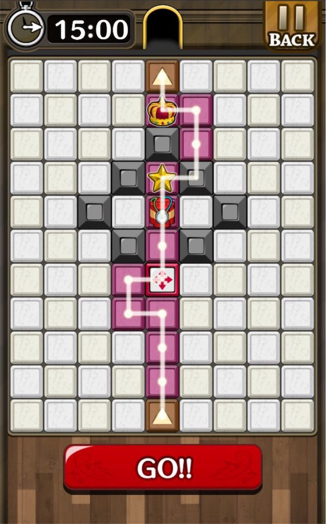 【怪盗パズル】 ステージ40の攻略