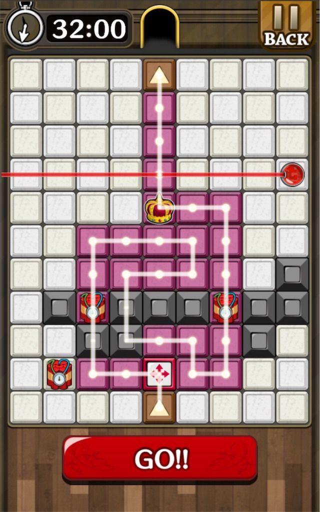 【怪盗パズル】 ステージ42の攻略