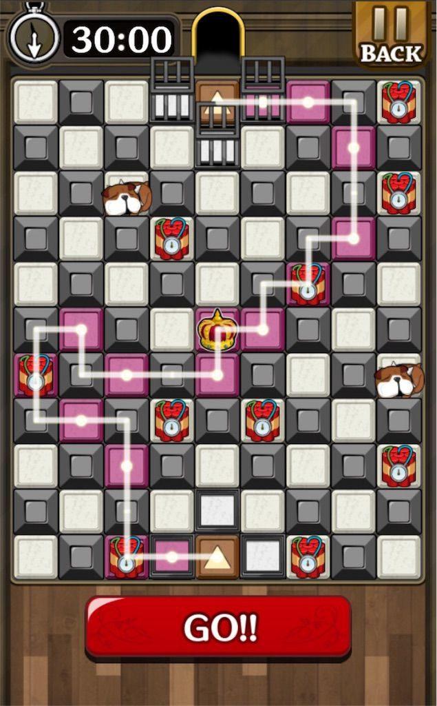 【怪盗パズル】 ステージ43の攻略