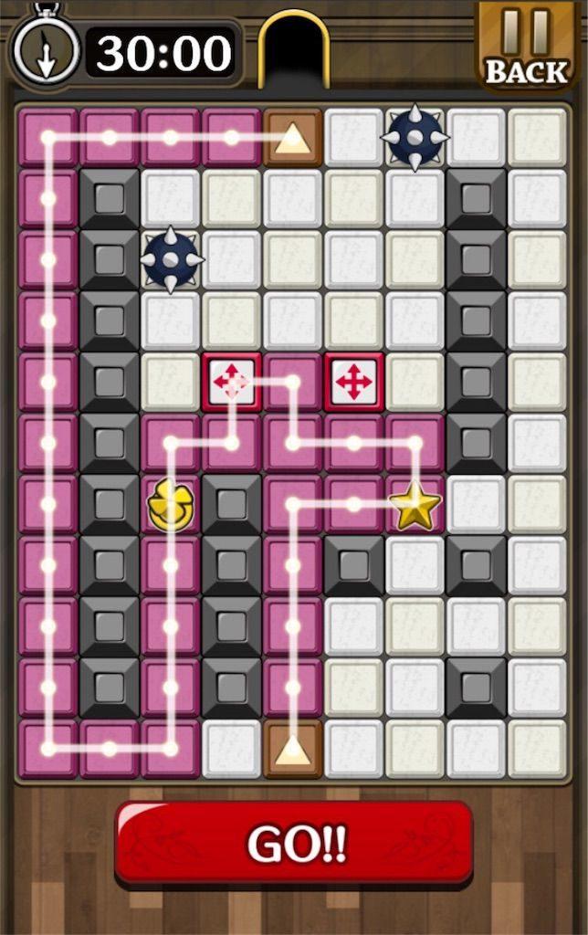 【怪盗パズル】 ステージ45の攻略