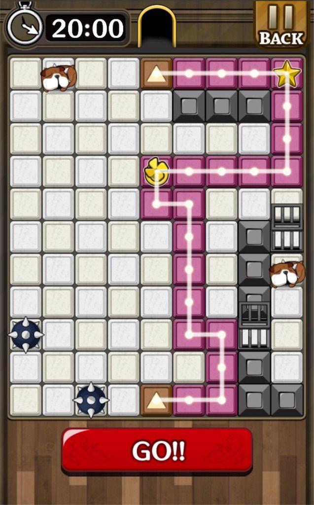 【怪盗パズル】 ステージ47の攻略