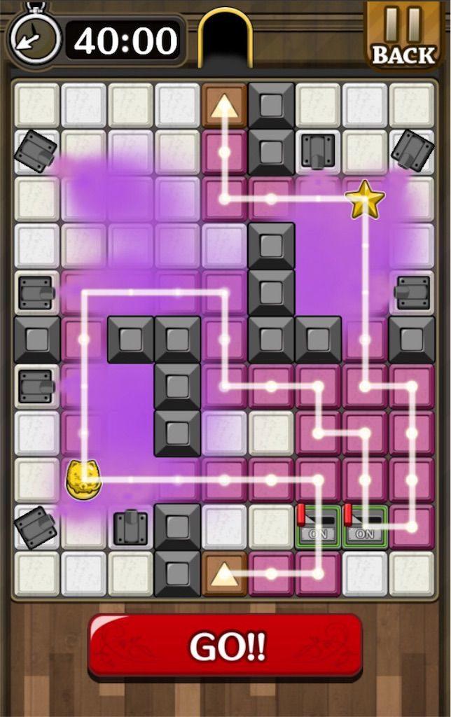 【怪盗パズル】 ステージ49の攻略