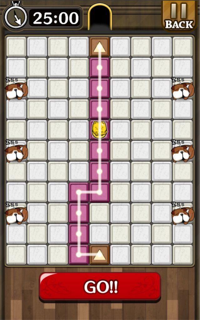 【怪盗パズル】 ステージ50の攻略