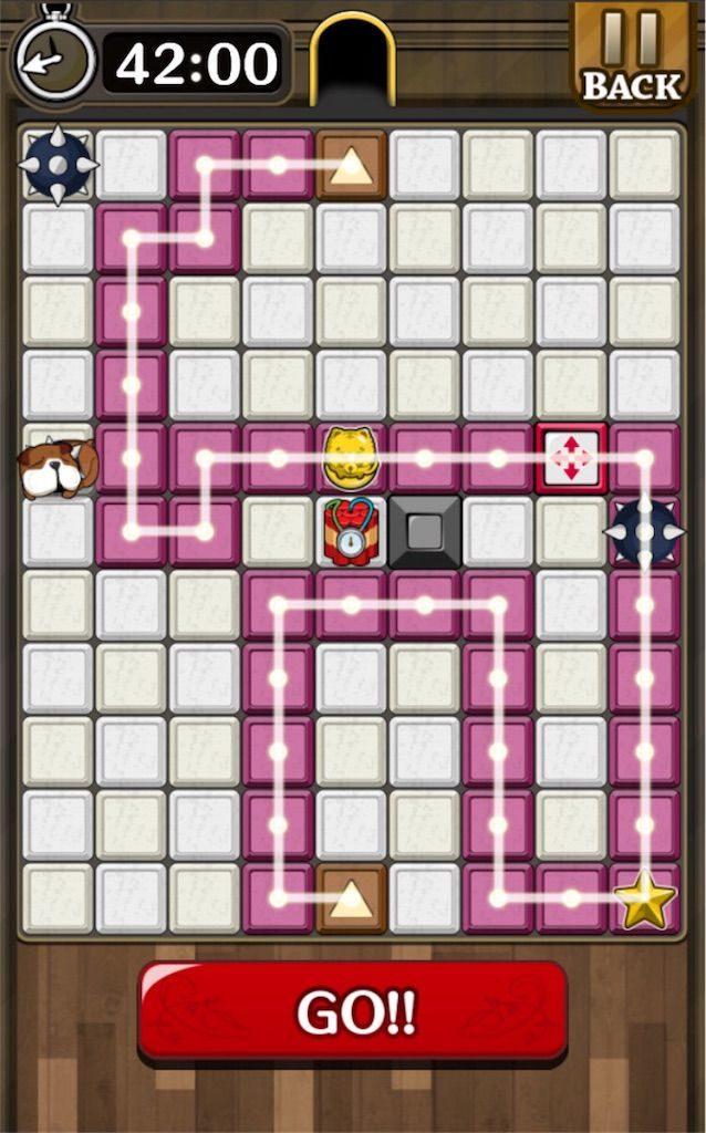 【怪盗パズル】 ステージ53の攻略