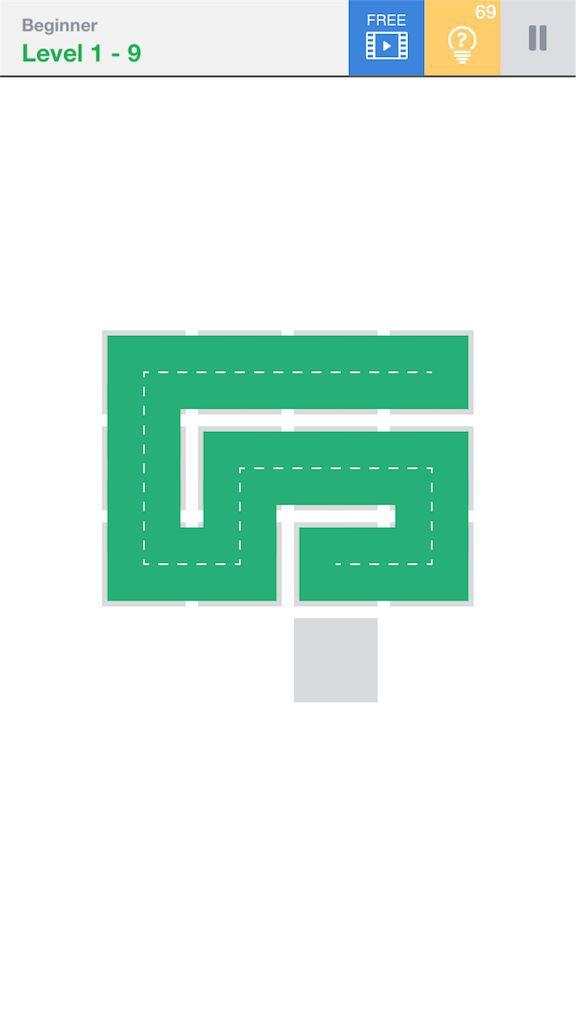 【Fill】BeginnerのLevel1の9の攻略