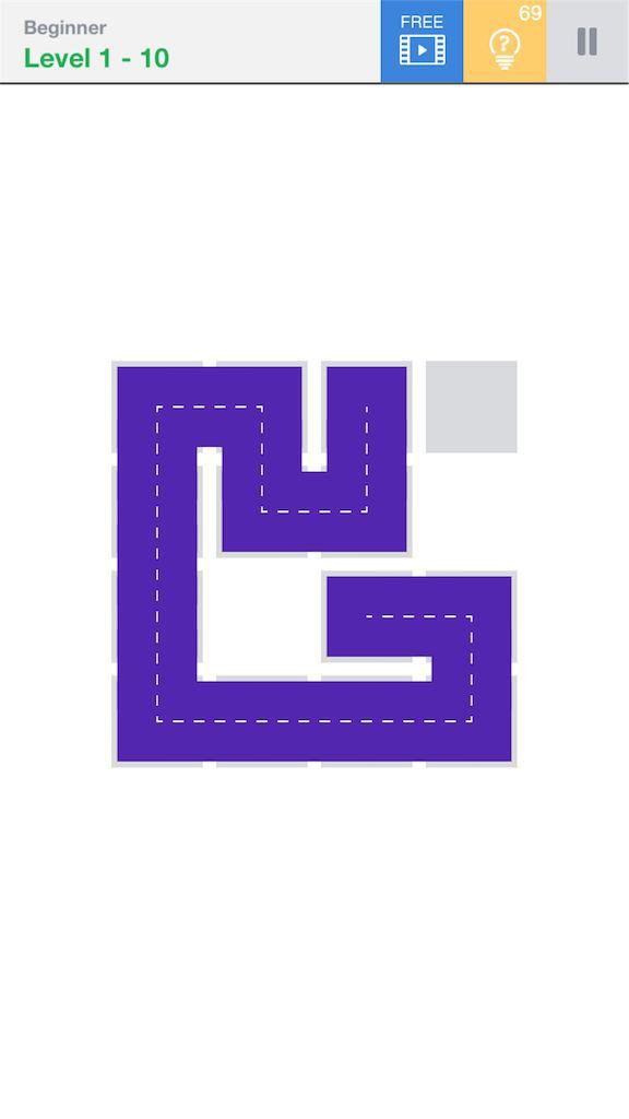 【Fill】BeginnerのLevel1の10の攻略