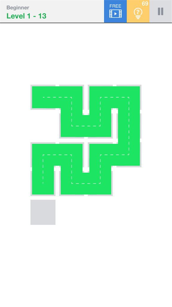 【Fill】BeginnerのLevel1の13の攻略