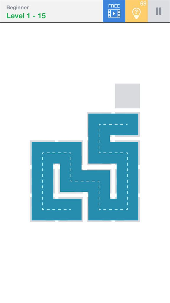 【Fill】BeginnerのLevel1の15の攻略