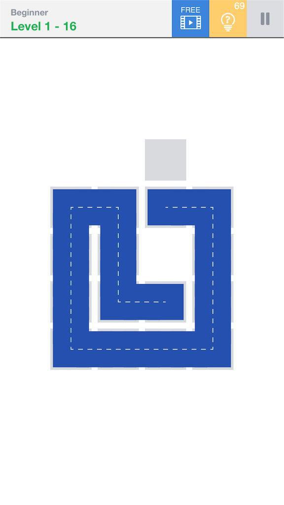 【Fill】BeginnerのLevel1の16の攻略