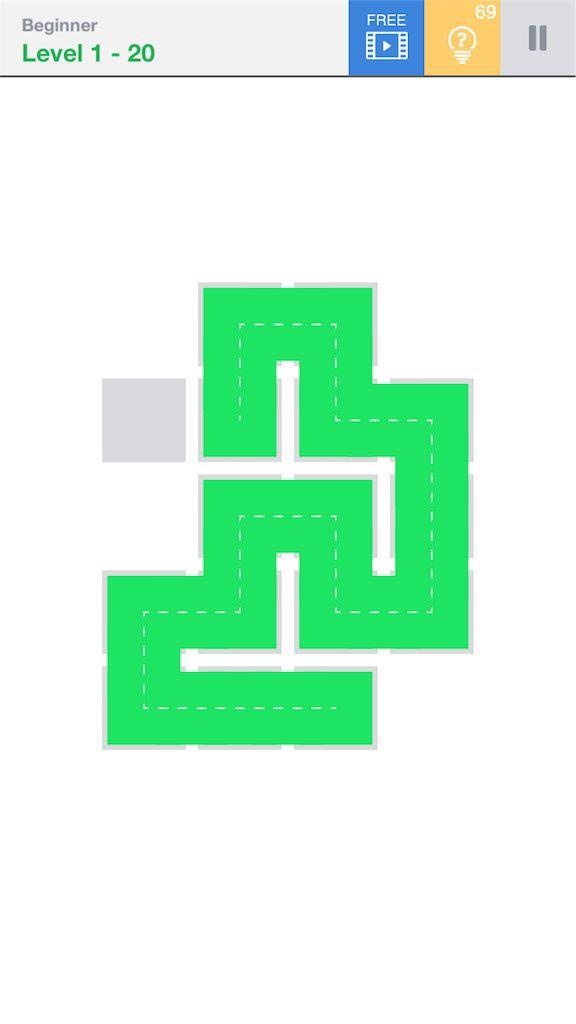 【Fill】BeginnerのLevel1の20の攻略