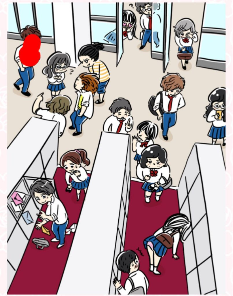 【少女漫画あるある】 「下駄箱で恋の予感!」の攻略2