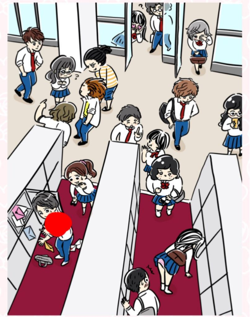 【少女漫画あるある】 「下駄箱で恋の予感!」の攻略1