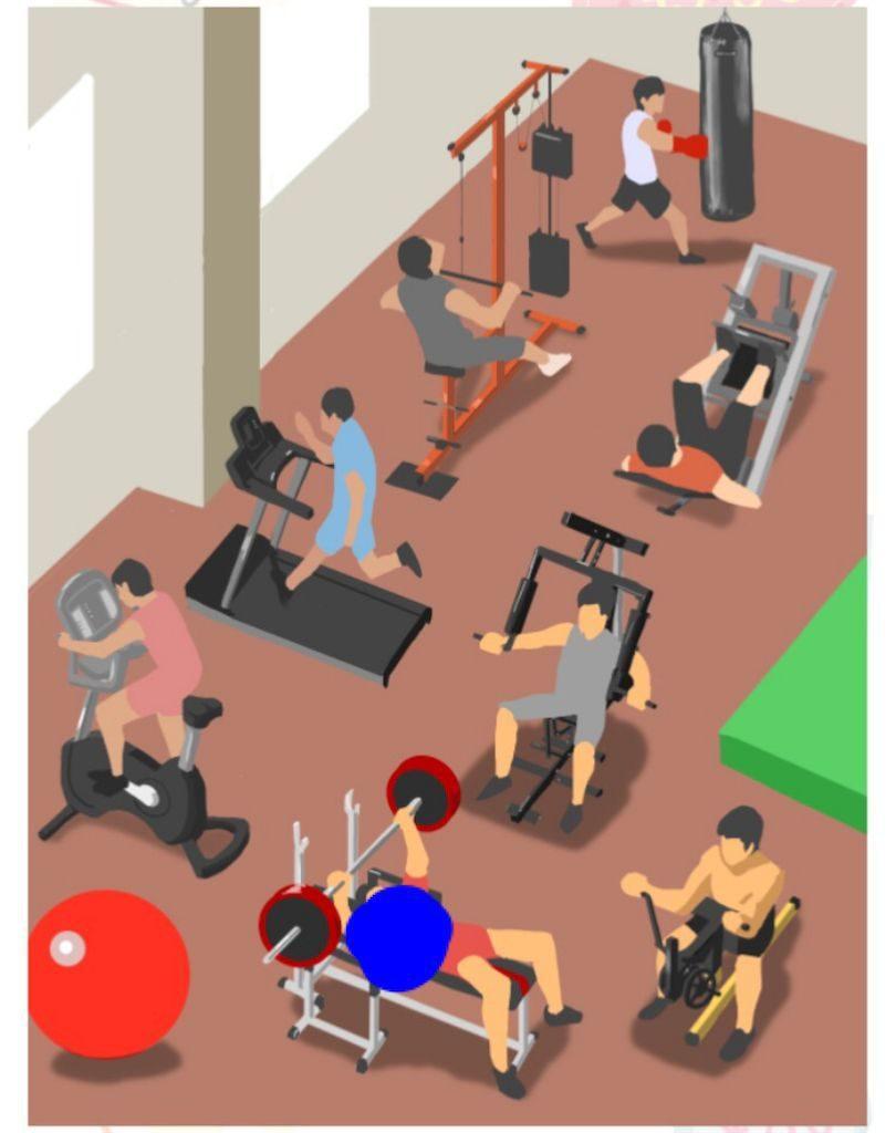 【モノの値段2】 File.18「トレーニングジムで見掛けるモノ」の攻略1