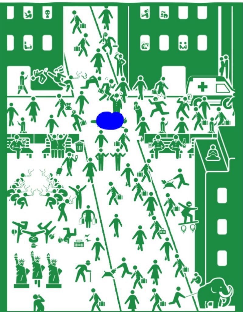 【ピクトさんを探せ!!】 FILE.18「昼の街で」の攻略