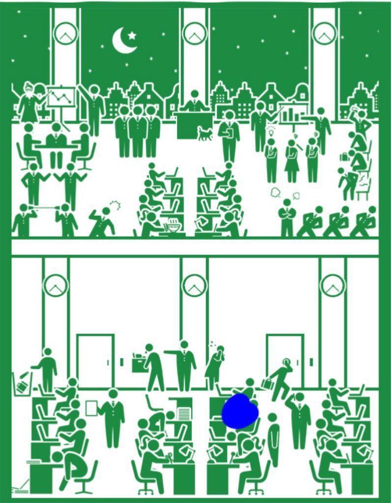 【ピクトさんを探せ!!】 FILE.09「会社」の攻略