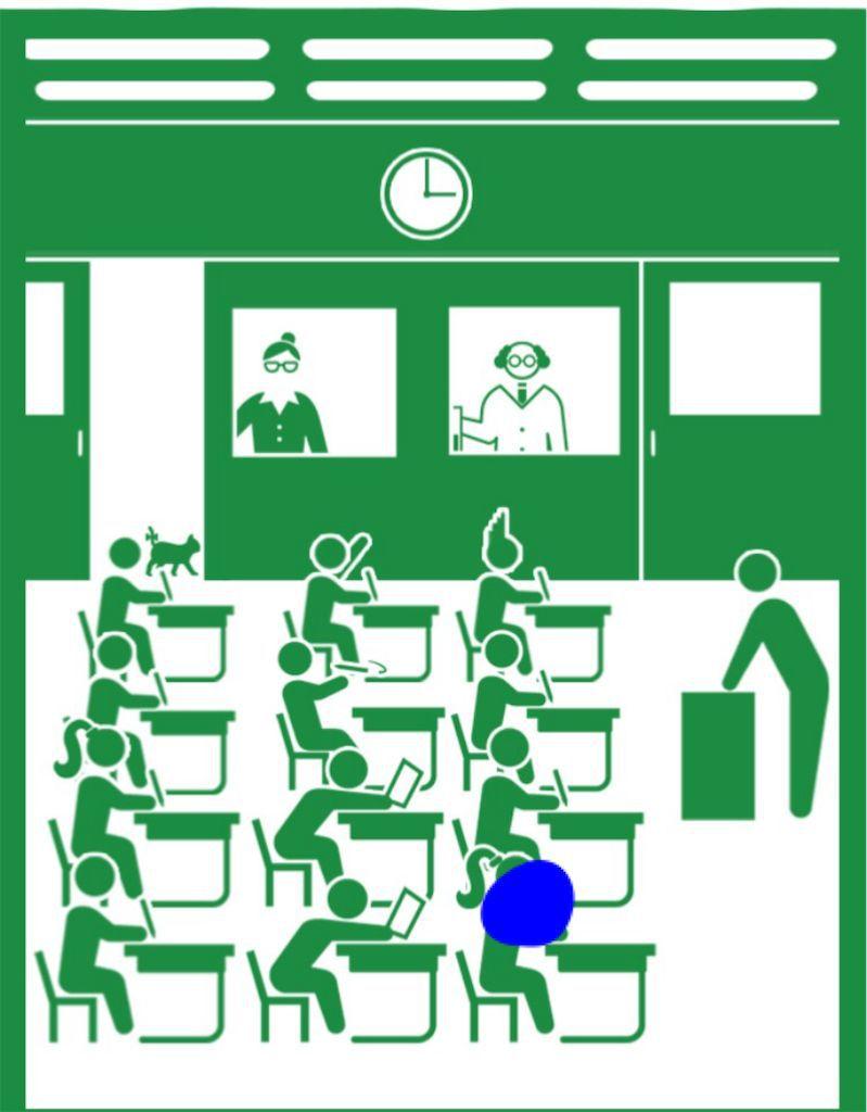 【ピクトさんを探せ!!】 FILE.04「学校」の攻略