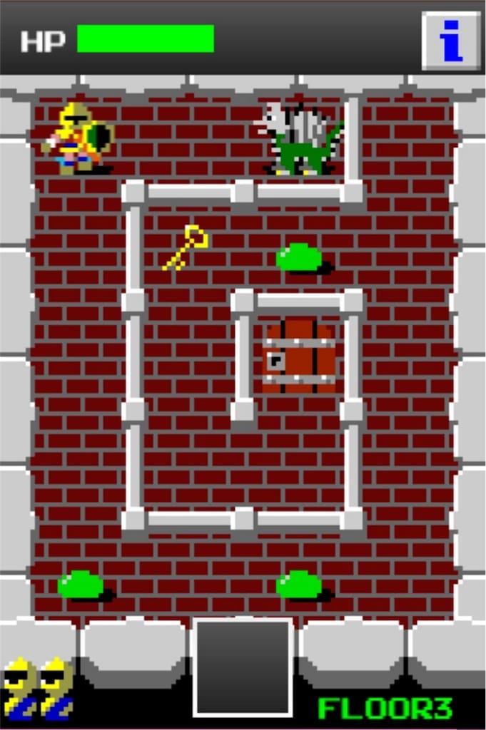【狭くて小さいドルアーガの塔】 ステージ3の攻略