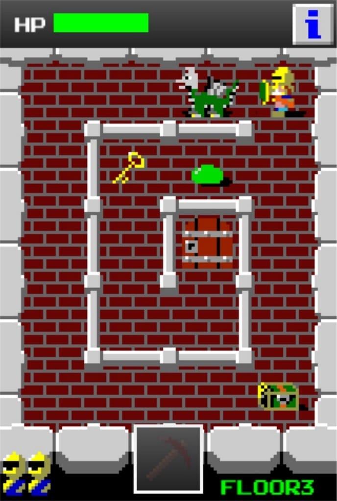 【狭くて小さいドルアーガの塔】 ステージ3の攻略1
