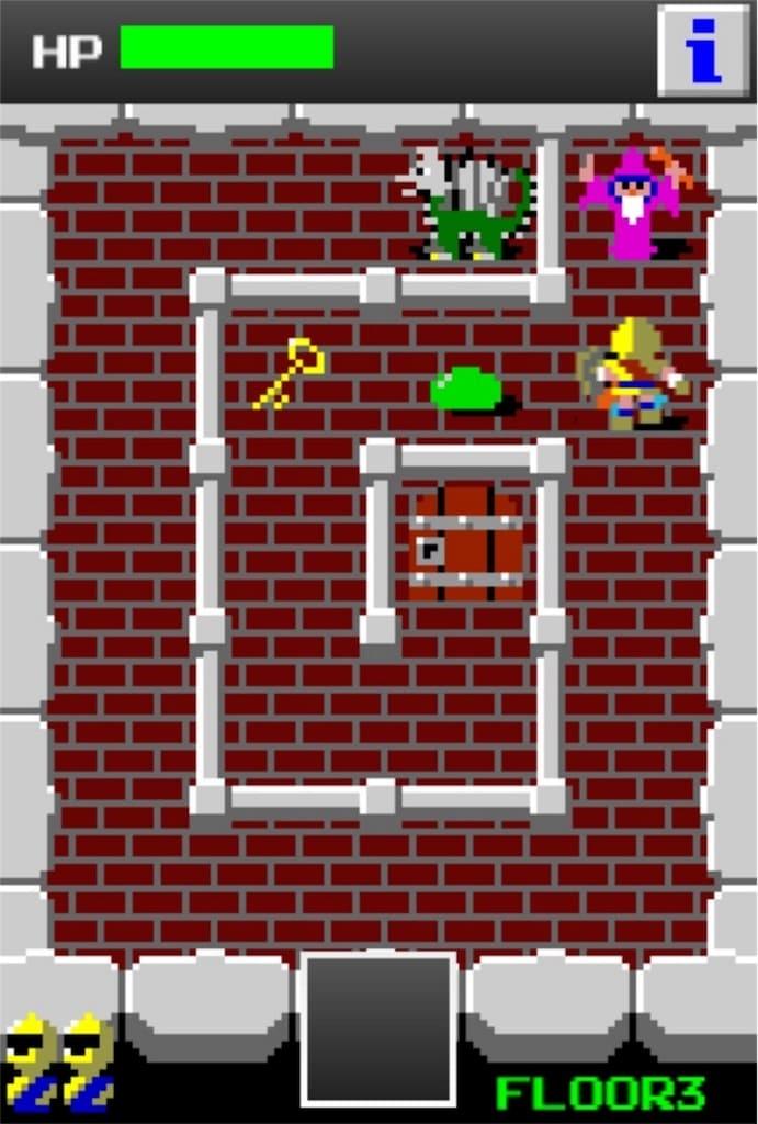 【狭くて小さいドルアーガの塔】 ステージ3の攻略3