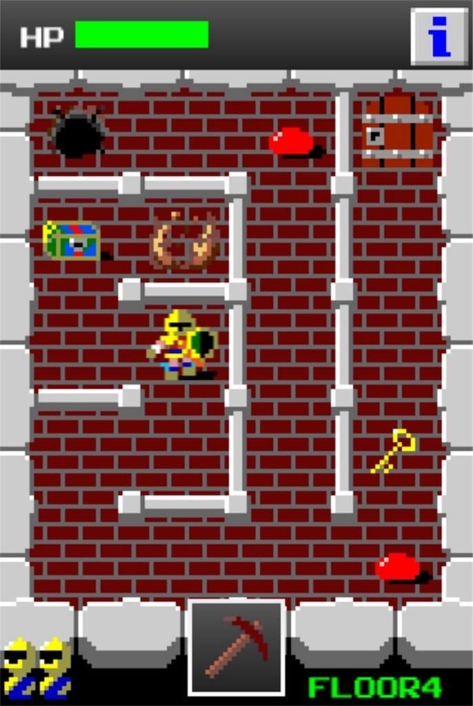 【狭くて小さいドルアーガの塔】 ステージ4の攻略法1