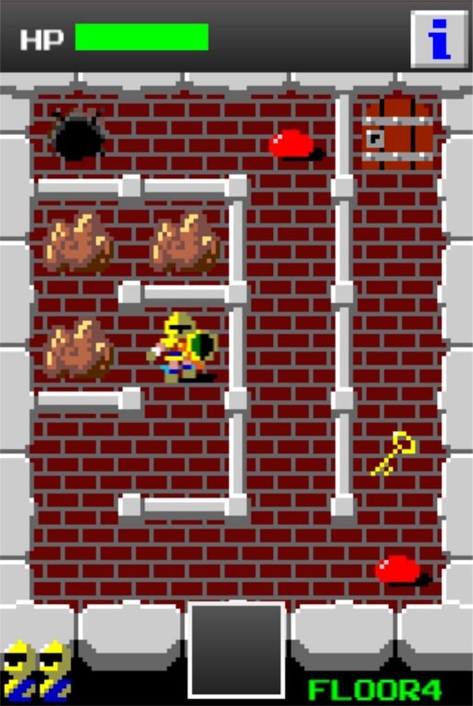 【狭くて小さいドルアーガの塔】 ステージ4の攻略法