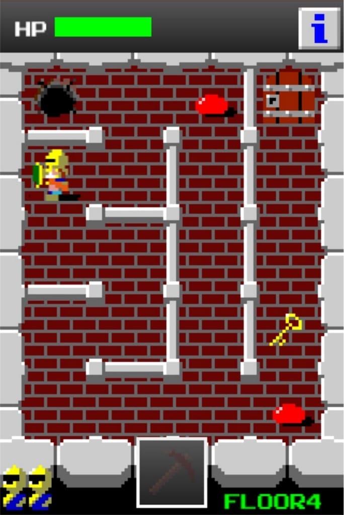【狭くて小さいドルアーガの塔】 ステージ4の攻略法3