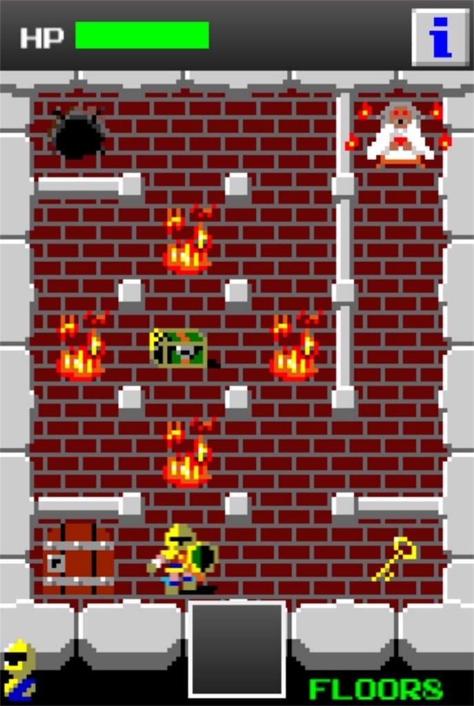 【狭くて小さいドルアーガの塔】 ステージ8の攻略