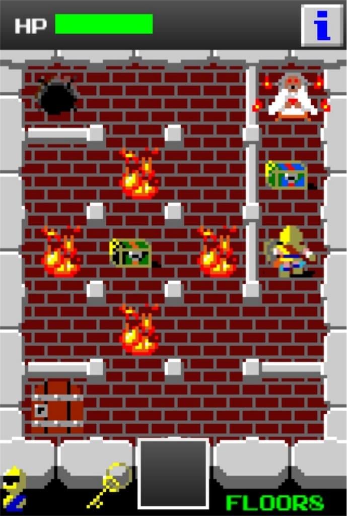 【狭くて小さいドルアーガの塔】 ステージ8の攻略1
