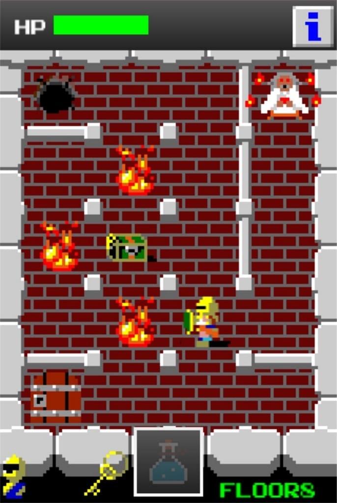 【狭くて小さいドルアーガの塔】 ステージ8の攻略3