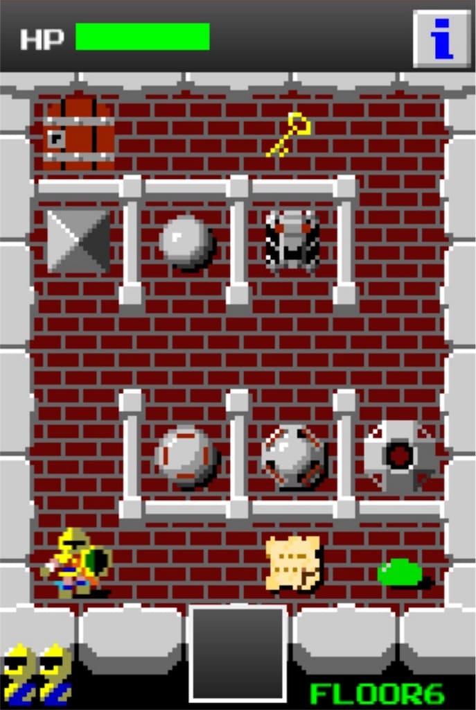 【狭くて小さいドルアーガの塔】 ステージ6の攻略