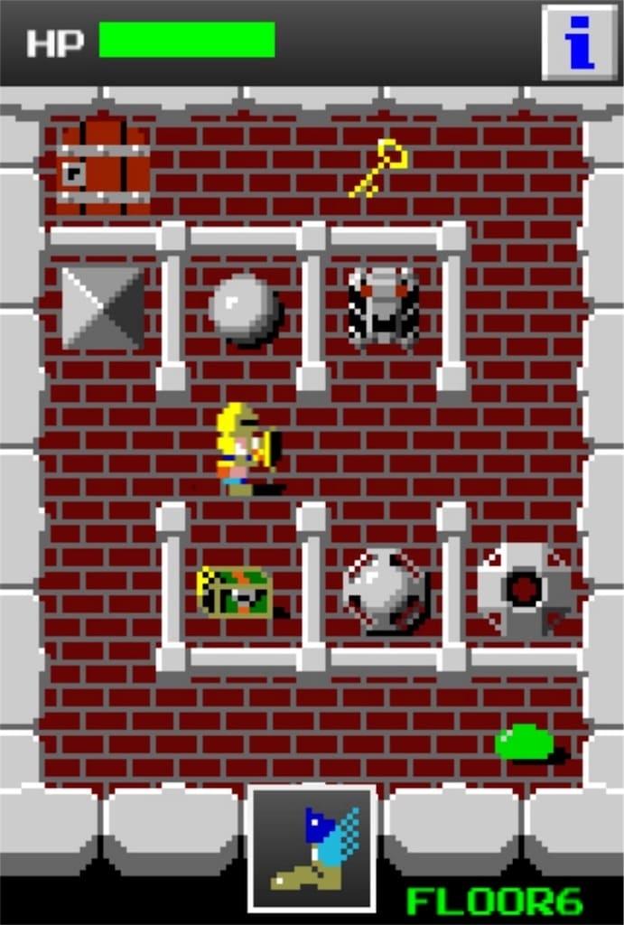 【狭くて小さいドルアーガの塔】 ステージ6の攻略2